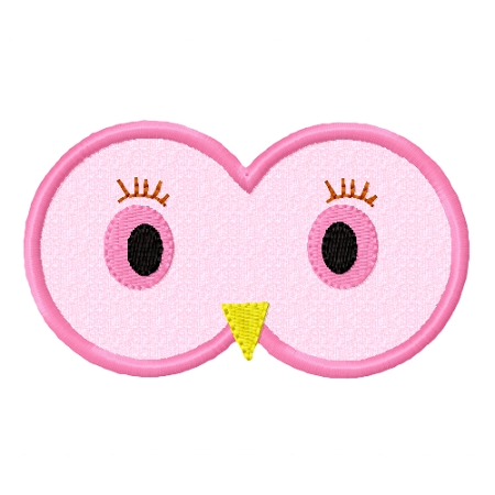 owl eyes applique rh myglamboutique com Abstract Owl Eyes drawing cartoon owl eyes