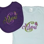Infant Gown & Bib Gift Set