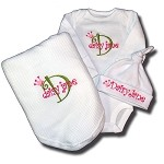 Onesie , Blanket & Hat Gift Set