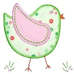 Applique Chick