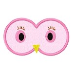 Owl Eyes Applique