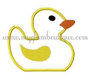 Applique Duck 1