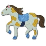 Applique Horse