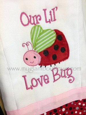 Our Lil LoveBug Appliqué