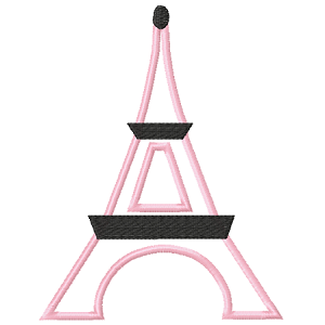 Eiffel Tower Appliqué