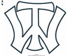 TW Logo applique