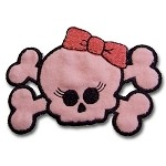 Girly Skull Appliqué
