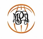 Basketball Monogram Frame