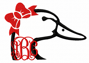 Duck? Duck? Goose! for use with Monogram font