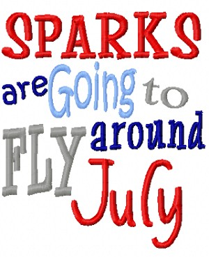 Sparks Fly in July